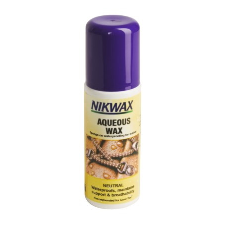 Nikwax Aqueous Wax - Neutral, 4.2 oz