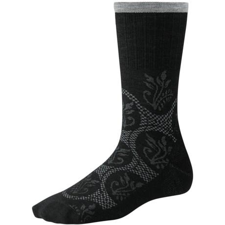 SmartWool Cloche Non-Binding Socks - Merino Wool, Crew (For Women)