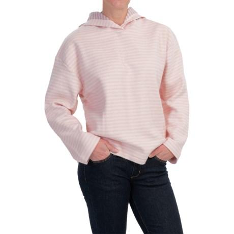 Hooded Fleece Pullover Sweatshirt (For Women)