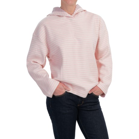 Specially made Hooded Fleece Pullover Sweatshirt (For Women)