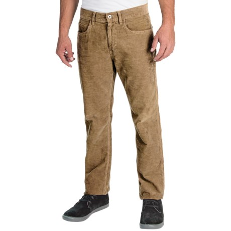 Five-Pocket Corduroy Pants (For Men)