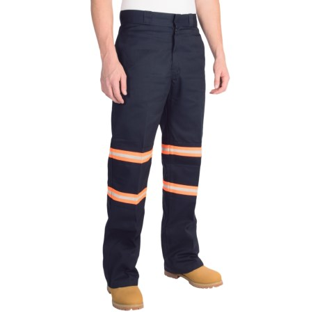 Dickies Enhanced Visibility Double-Knee Work Pants (For Men)