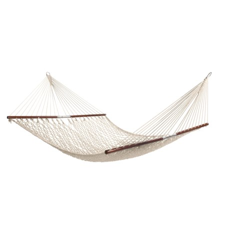 ABO Gear Stowaway Hammock - Collapsible, Cotton Rope