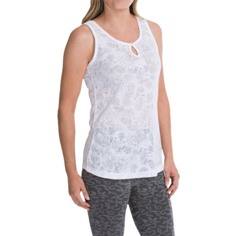 Aventura Clothing Saphira Burnout Tank Top (For Women)