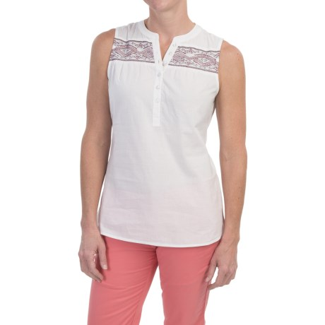 Aventura Clothing Damaris Shirt - Organic Cotton, Sleeveless (For Women)