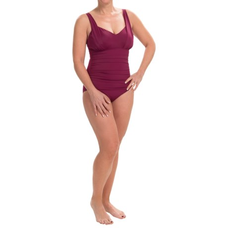 Trimshaper Layla One-Piece Swimsuit (For Women)
