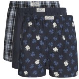 Lucky Brand Core Boxers - 3-Pack (For Men)