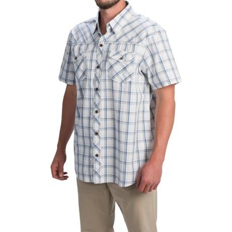 Ecoths Xavier Shirt - Organic Cotton, Short Sleeve (For Men)