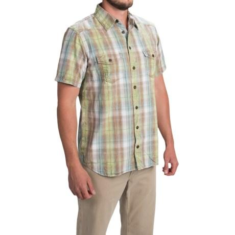 Ecoths Bentley Shirt - Organic Cotton, Short Sleeve (For Men)