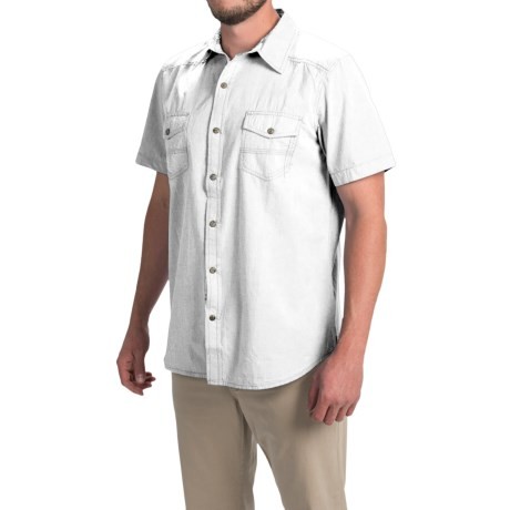 Ecoths Carson Shirt - Organic Cotton, Short Sleeve (For Men)