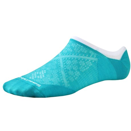 SmartWool PhD Run Ultralight No-Show Socks - Merino Wool, Below the Ankle (For Women)