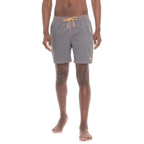 Mr. Swim Solid Swim Trunks - Built-In Briefs (For Men)