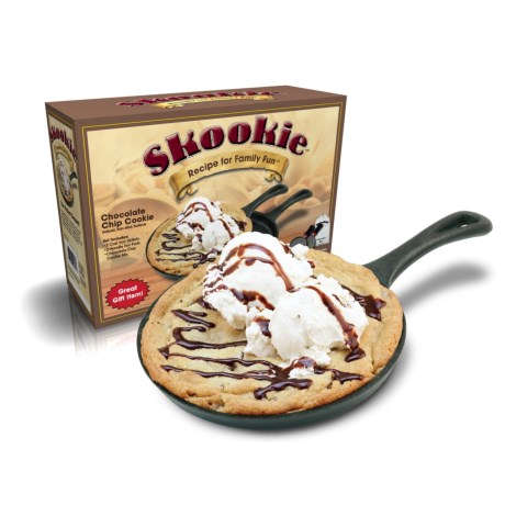 Camp Chef Cast Iron Skookie Pan with Mix