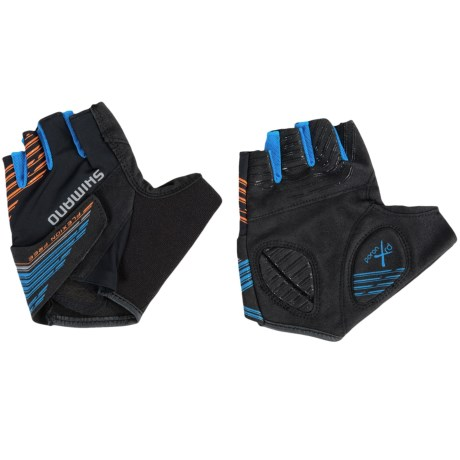 Shimano Advanced Fingerless Bike Gloves (For Men and Women)
