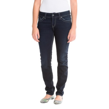 Silver Jeans Suki Pencil Skinny Jeans (For Women)