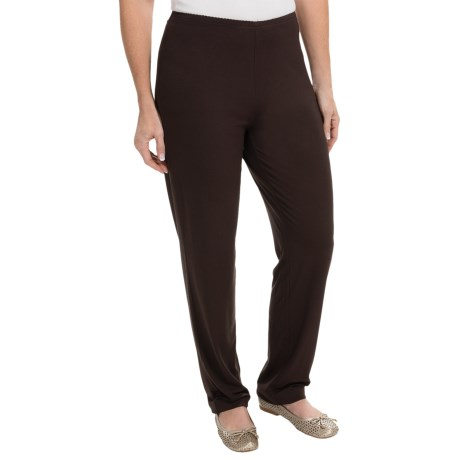Stretch Knit Casual Pants (For Women)