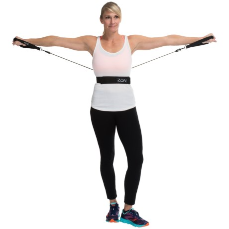 ZoN Walking Belt with Resistance Bands