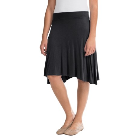 Rayon Sharkbite Skirt (For Women)