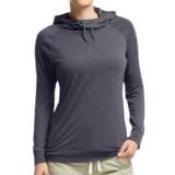 Icebreaker Cool-Lite Sphere Hooded Shirt - UPF 30+, Merino Wool, Long Sleeve (For Women)