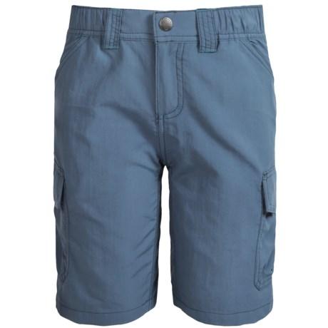 White Sierra Jr. Rocky Ridge Hiking Shorts - UPF 30 (For Little and Big Boys)