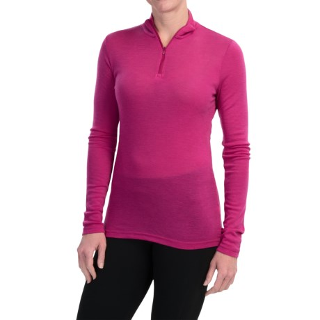 Icebreaker Everyday Bodyfit 200 Base Layer Top - UPF 20+, Merino Wool, Zip Neck, Long Sleeve (For Women)