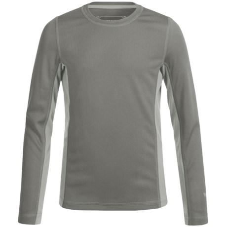 White Sierra Sunbuster T-Shirt - UPF 30+, Long Sleeve (For Little and Big Kids)