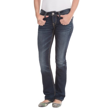 Silver Jeans Aiko Joga Jeans - Mid Rise, Bootcut (For Women)
