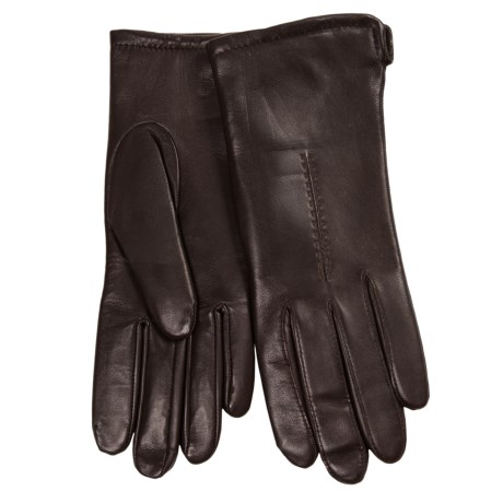 Cire by Grandoe Sensor Touch Leather Gloves (For Women)