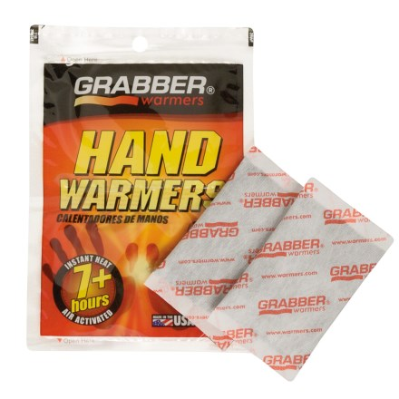 Grabber Hand Warmer Heat Pack in Asst - Closeouts