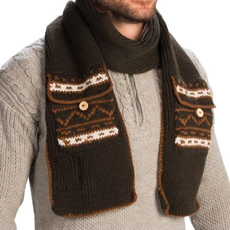 Woolrich Pocket Scarf (For Men)