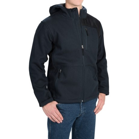 Dutch Harbor Gear Sherpa-Lined Hooded Jacket - Full Zip (For Men and Big Men)