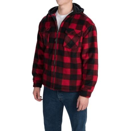 Dutch Harbor Gear Fleece Hooded Jacket - Full Zip (For Men and Big Men)