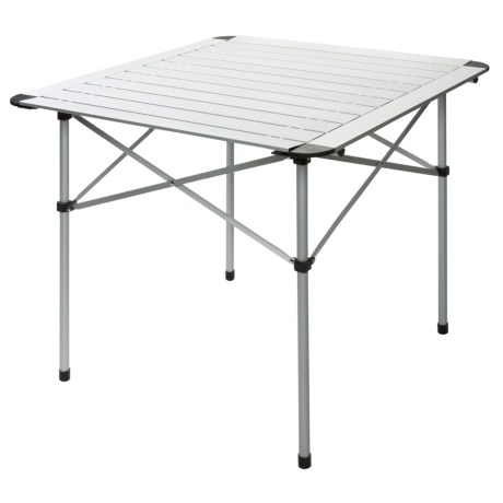 ALPS Mountaineering Roll-Up Camp Table - Aluminum