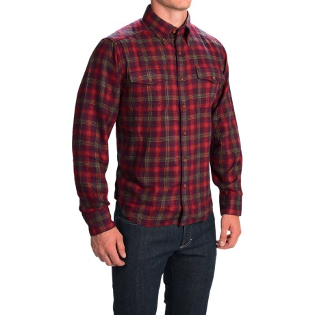 1816 by Remington Field Flannel Shirt - Long Sleeve (For Men)