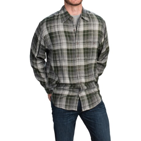 Specially made Plaid Shirt - Long Sleeve (For Men)