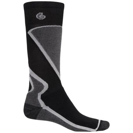 Point6 Park Ski Socks - Merino Wool, Over the Calf (For Men and Women)