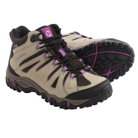 Merrell Mojave Mid Hiking Boots - Waterproof, Leather (For Women)