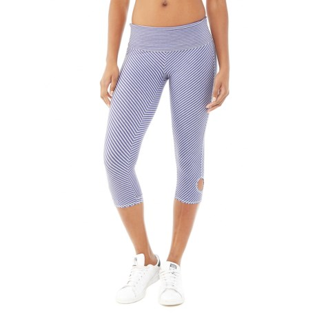 Alternative Apparel Pull-Up Print Leggings - Organic Cotton-Lycra® (For Women)