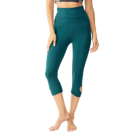 Alternative Apparel Pull-Up Leggings (For Women)