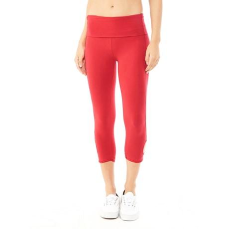 Alternative Apparel Pull-Up Leggings (For Women)