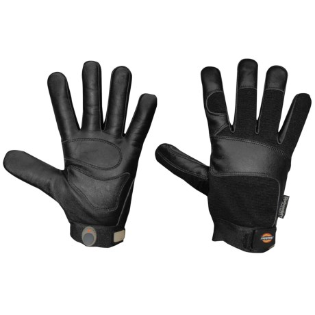 Dickies Tough Task Black Goatskin Gloves - Thinsulate® Lined (For Men and Women)