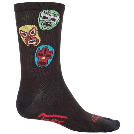 """SockGuy SGX 6"""" Socks - Crew (For Men and Women)"""