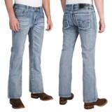 Rock & Roll Cowboy Pistol Ivory V Jeans - Bootcut (For Men)