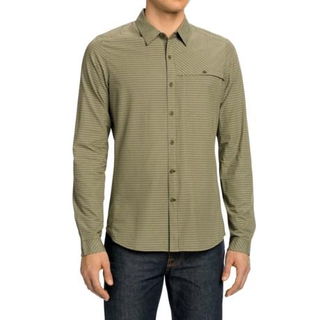 NAU Sketch Plaid Shirt - Long Sleeve (For Men)