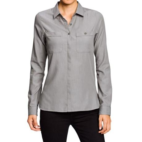 NAU Twisted Shirt - Organic Cotton-TENCEL®, Long Sleeve (For Women)