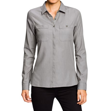 NAU Twisted Shirt - Organic Cotton-TENCEL®, Long Sleeve (For Women)