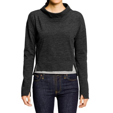 NAU Randygoat Shrug Sweater - Wool-Recycled Materials (For Women)