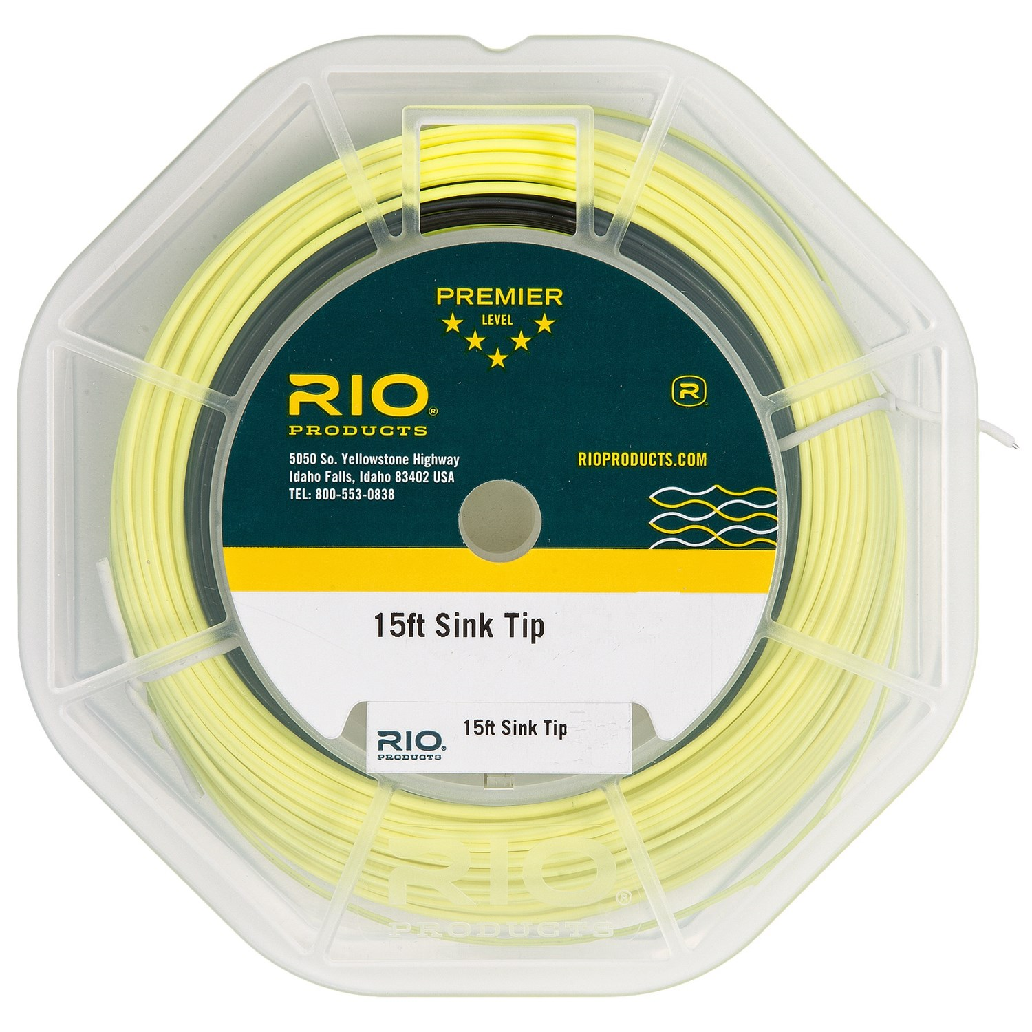 Rio Weight Forward Sinking Tip Fly Line 15 9937c