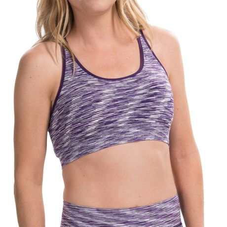 Just One Seamless Two-Strap Sports Bra - Low Impact (For Women)