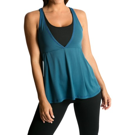 Be Up Loose Fit Power Tank Top (For Women)